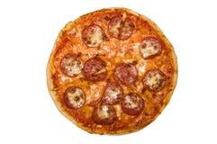 Pizza italiana Imagen de archivo libre de regalías
