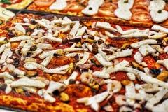 Pizza italiana fotografie stock libere da diritti