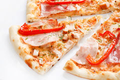 Pizza italiana Imagem de Stock Royalty Free