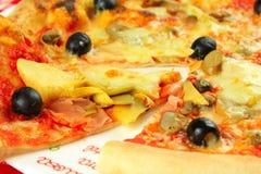 Pizza italiana Imágenes de archivo libres de regalías