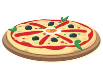 Pizza italiana libre illustration