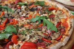 Pizza italiana Imagem de Stock Royalty Free