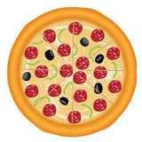 Pizza italiana Immagine Stock Libera da Diritti