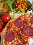 Pizza italiana Fotos de archivo libres de regalías