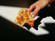 Pizza italiana Fotografía de archivo libre de regalías