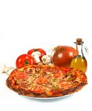 Pizza italiana Fotos de Stock Royalty Free
