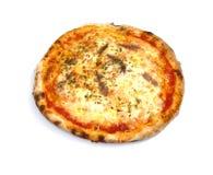 Pizza italiana com anchovas Imagem de Stock