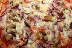 Pizza italiana curruscante Imagen de archivo