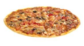 Pizza italiano (horizontal view) Stock Photography