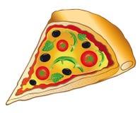 Pizza, italienisches Lebensmittel Stockfotografie