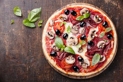 Pizza italienne Images libres de droits
