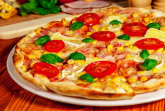 Pizza italienne Photos stock
