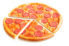 Pizza italienne délicieuse Images stock