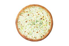 Pizza italienne de fromage Images stock