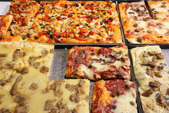 Pizza in Italy Stock Images