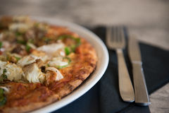 Pizza in Italy Royalty Free Stock Images