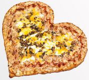 Pizza, jour du ` s de Valentine, jour du ` s de Valentine, amour de pizza Photo stock