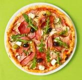 Pizza koszt stały zdjęcie stock