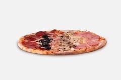 Pizza Le Quattro Stagioni Fotografia Stock Libera da Diritti
