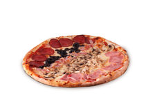 Pizza Le Quattro Stagioni Stock Photos