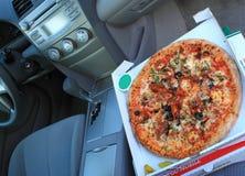 Pizza-Lieferung Lizenzfreies Stockbild