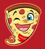 Pizza linda Imagen de archivo