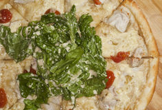 Pizza lista Imagenes de archivo