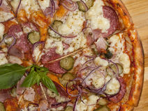 Pizza lista Fotografía de archivo