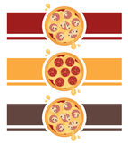Pizza Logo Design image stock