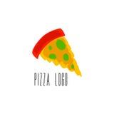 Pizza Logo Vector Immagine Stock Libera da Diritti