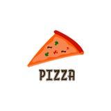 Pizza Logo Vector Fotografia Stock