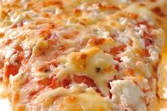 Pizza macro Royalty Free Stock Photography