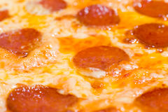 Pizza, macro Stock Photos