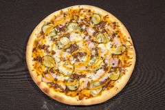 Pizza, main course Royalty Free Stock Images