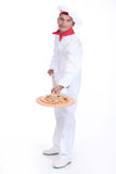 Pizza maker Royalty Free Stock Photo