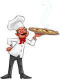 The pizza man Stock Photo