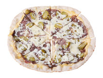 Pizza manzo Stock Images