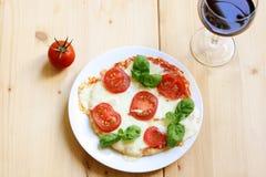Pizza Margarita Stock Photography