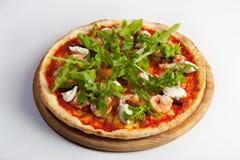 Pizza Margarita royalty-vrije stock afbeelding