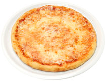 Pizza Margarita Stock Images