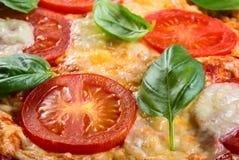 Pizza Margarita Stock Image