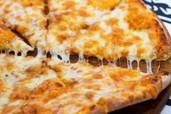 Pizza Margarita. royalty free stock images
