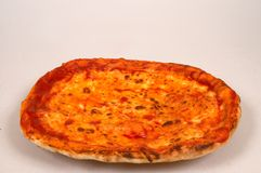 Pizza Margherita Stock Photography