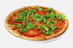 Pizza Margherita Stock Photo