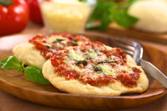 Pizza Margherita Foto de Stock Royalty Free