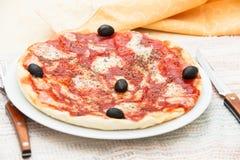 Pizza Margherita Obraz Stock