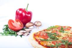 Pizza Margherita Stockbilder