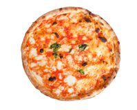 Pizza Margherita image libre de droits
