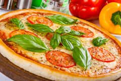 Pizza Margherita Images stock