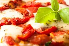 Pizza Margherita Arkivfoton